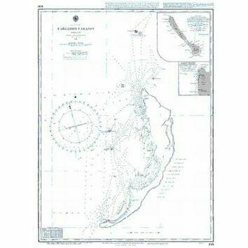 1881 Cargados Carajos Shoals Admiralty Chart
