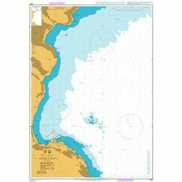 1922 Simon\'s Bay Admiralty Chart
