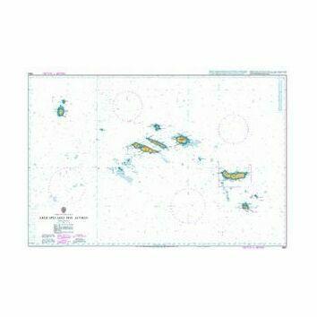 1950 Arquipelago dos Acores Admiralty Chart