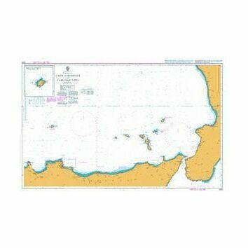 1976 Capo di Bonifati to Capo San Vito Admiralty Chart