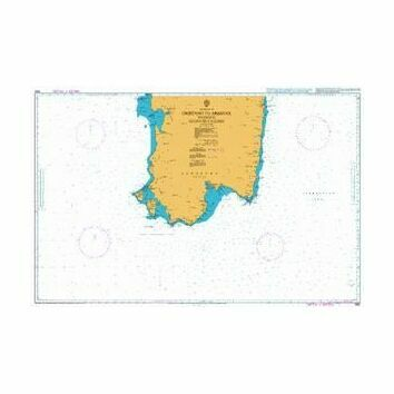 1990 Oristano to Arbatax inc. Golfo di Cagliari Admiralty Chart