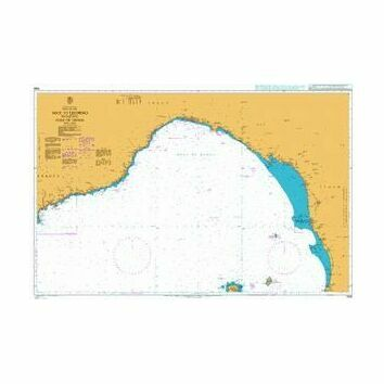 1998 Nice to Livorno including Gulf of Genoa Admiralty Chart