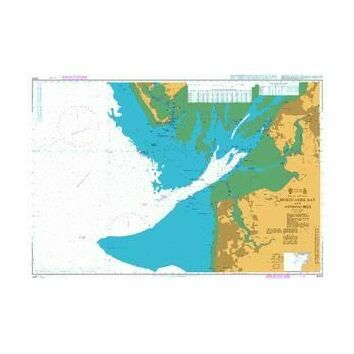 2010 Morecambe Bay and Approaches Admiralty Chart
