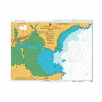 2017 Dungarvan Harbour Admiralty Chart