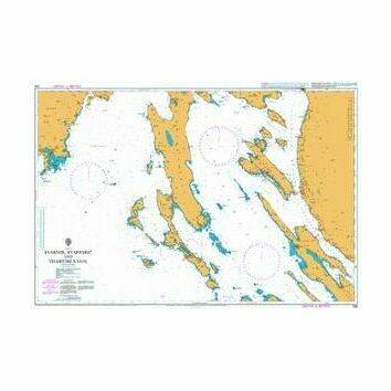 202 Kvarner, Kvarneric and Velebitski Kanal Admiralty Chart