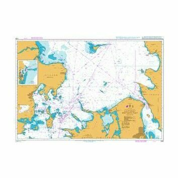 2108 Kattegat Southern Part Admiralty Chart