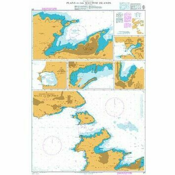 211 Plans in the Maltese Islands Admiralty Chart