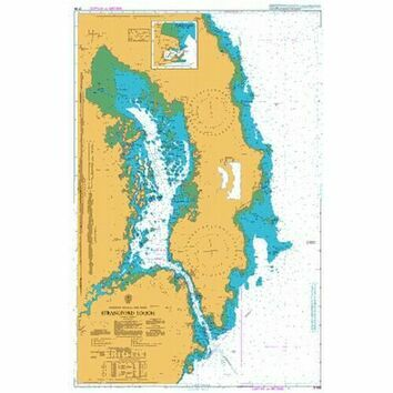 2156 Strangford Lough Admiralty Chart