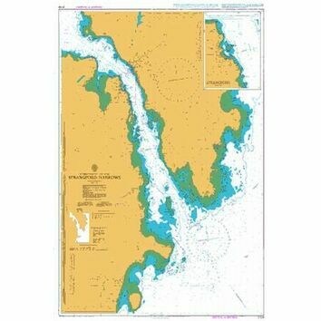 2159 Strangford Narrows Admiralty Chart