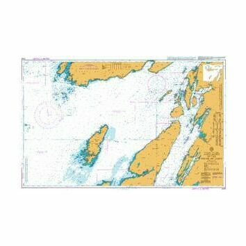 2169 Approaches to the Firth of Lorn Admiralty Chart