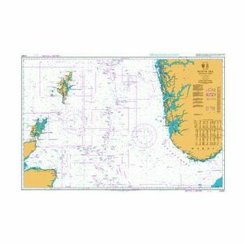 2182C North Sea - Northern Sheet Admiralty Chart