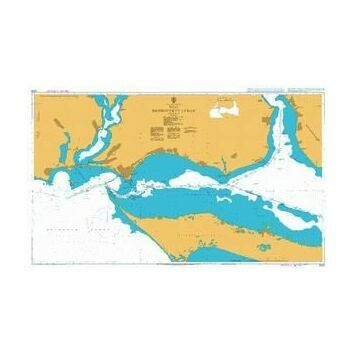 2200 West Dniprovs\'kyy Lyman Admiralty Chart
