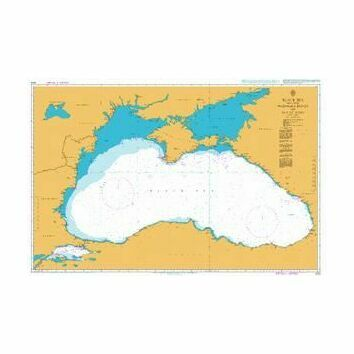 2214 Black Sea including Marmara Denizi and Sea of Azov Admiralty Chart