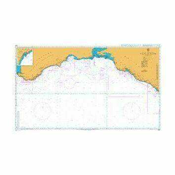 2233 Yalta to Tuapse Admiralty Chart