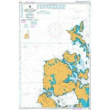 2249 Orkney Islands,  Western Sheet Admiralty Chart