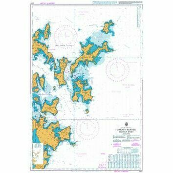 2250 Orkney Islands, Eastern Sheet Admiralty Chart