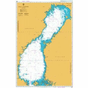 2252 Gulf of Bothnia Admiralty Chart