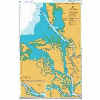 2295- Russia Arkhangel`sk, Ostrov Linskiy Priluk to Ostrov Krasoflotskiy Admiralty Chart