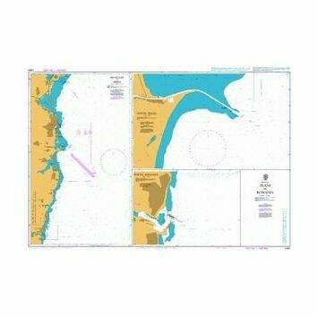 2282 Plans in Romania Admiralty Chart