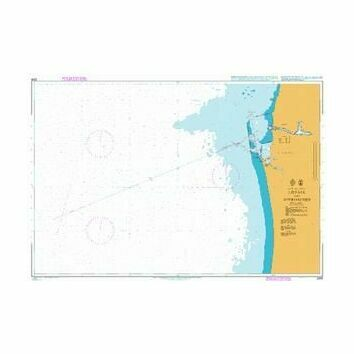 2289 Baltic Sea-Latvia,Leipaja & Approaches Admiralty Chart