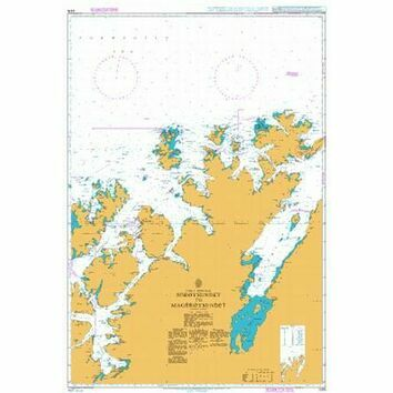 2315 Soroysundet to Mageroysundet Admiralty Chart
