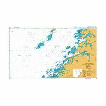 2321 Norway-West Coast, Vestfjorden Myken to Moskenesoya Admiralty Chart