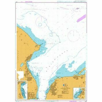 2341 Kieler Forde Outer Part Admiralty Chart