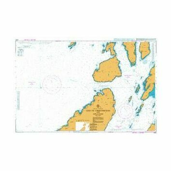 2343 Gulf of Corryvrekan and Approaches Admiralty Chart