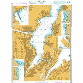 2344 Kieler Forde, Inner Part Admiralty Chart