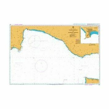 237 Taslik Burnu to Anamur Burnu Admiralty Chart