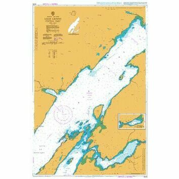 2379 Loch Linnhe - Central Part Standard Admiralty Chart