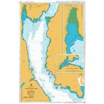 2381 Lower Loch Fyne Admiralty Chart