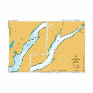 2382 Upper Loch Fyne Admiralty Chart