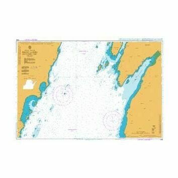 2396 Sound of Jura - Southern Part Admiralty Chart