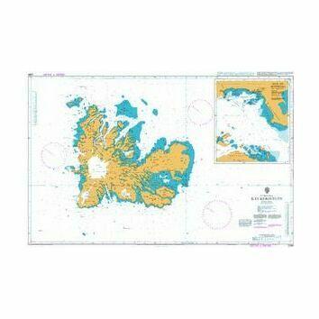 2398 Iles Kerguelen Admiralty Chart