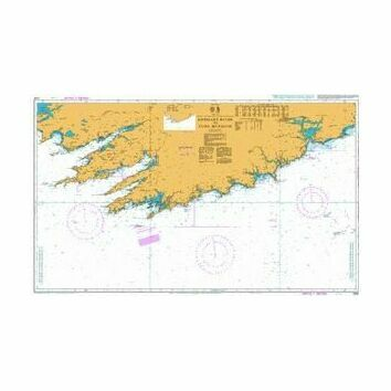5134 Kenmare River to Cork Harbour Instructional Admiralty Chart
