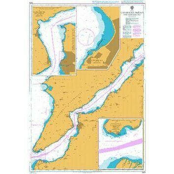 2429 Canakkale Bogazi (The Dardanelles) Admiralty Chart