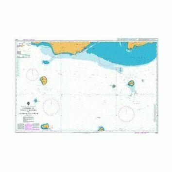2441 Jazireh-ye Tonb-e Bozorg to Jazireh-ye Forur Admiralty Chart