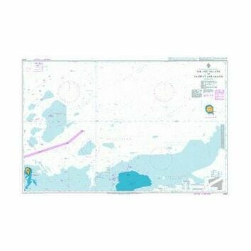 2443 Sir Abu Nu`Ayr to Jazirat Zarakkuh Admiralty Chart