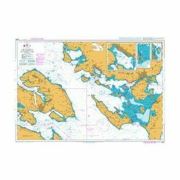 2532 Lillebaelt Southern Part Admiralty Chart