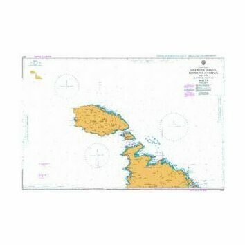 2537 Ghawdex (Gozo), Kemmuna (Comino) and Northern Malta Admiralty Chart