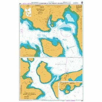2568 Harbours in the Orkney Islands Admiralty Chart
