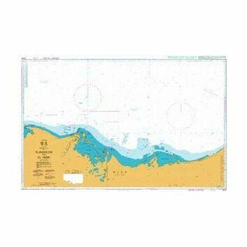 2573 El-Burullus to El `Arish Admiralty Chart