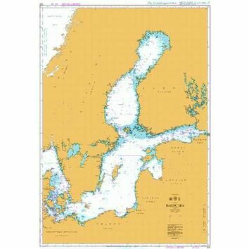 259 Baltic Sea Admiralty Chart