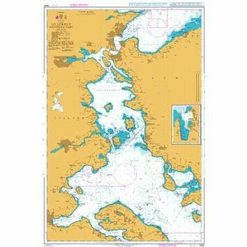 2592 Lillebaelt Northern Part Admiralty Chart