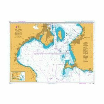 2595 The Sound - Southern Part Admiralty Chart