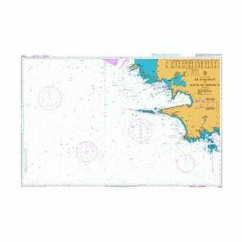 2643 Ile d\'Ouessant to Pointe de Penmarc\'h Admiralty Chart