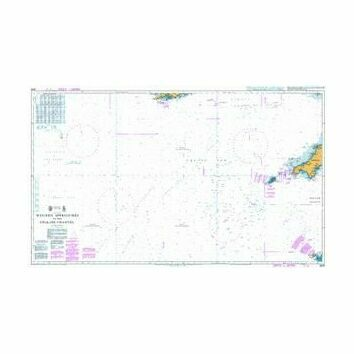 2649 Western Approaches to the English Channel Admiralty Chart