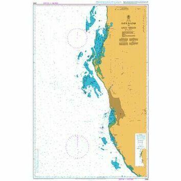 2659 Shi`b Nazar to Qita` Kidan Admiralty Chart