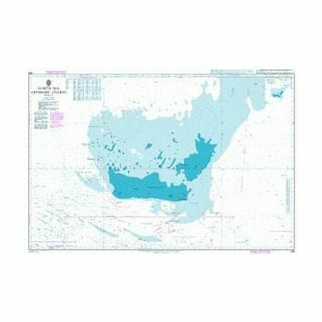 266 North Sea Offshore Charts Sheet 11 Admiralty Chart